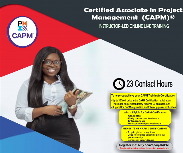 PMI-CAPM-TRAINING-EPAQ-NIGERIA-LTD-TRAINING